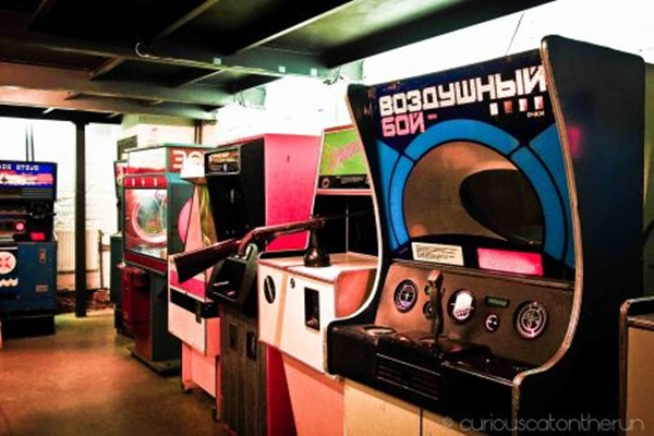Museu Soviético de Jogos de Arcade