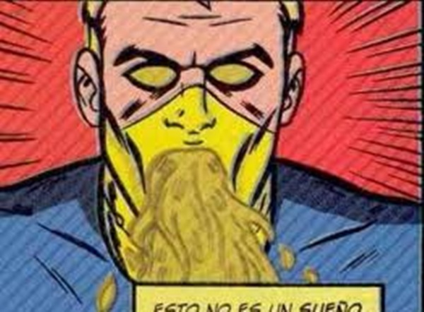 Zeitgeist: o mutante que combate o mal com vômito