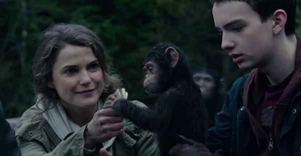 Uma sociedade completamente inversa - Planeta dos Macacos: O confronto