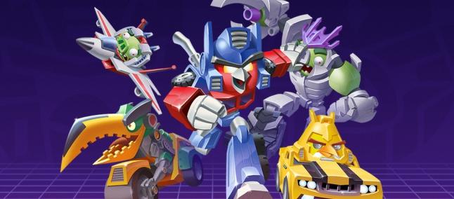Angry Birds chega ao mundo de Transformers