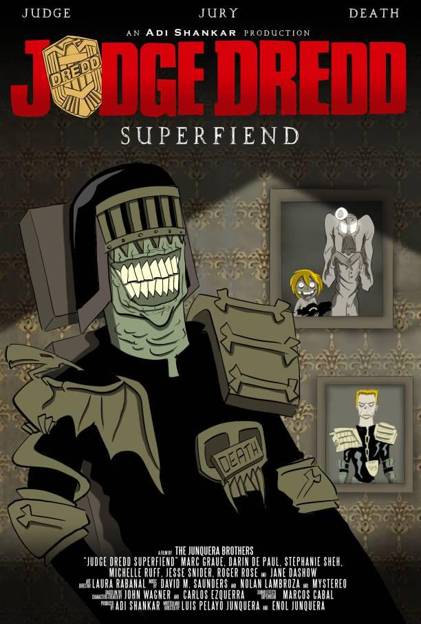 Judge Dredd: Superfiend | Primeiro trailer da websérie animada