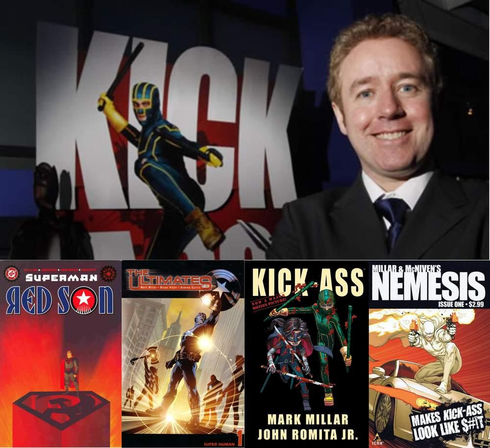 Proibido Ler entrevista | Mark Millar - Autor de Kick-Ass, Guerra Civil, Authority e mais!