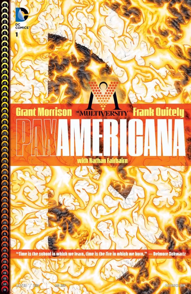 HQ do Dia   The Multiversity: Pax Americana #1