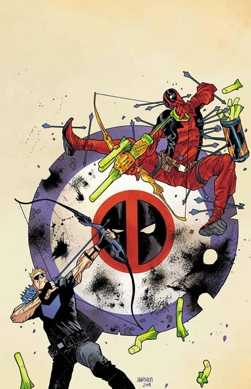 Gavião Arqueiro vs Deadpool #0-1