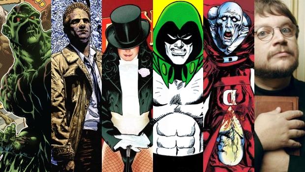 Liga da Justiça Sombria | Guillermo Del Toro entregou o roteiro para a Warner
