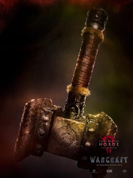Warcraft lança novos pôsteres e quer saber de qual lado você está!
