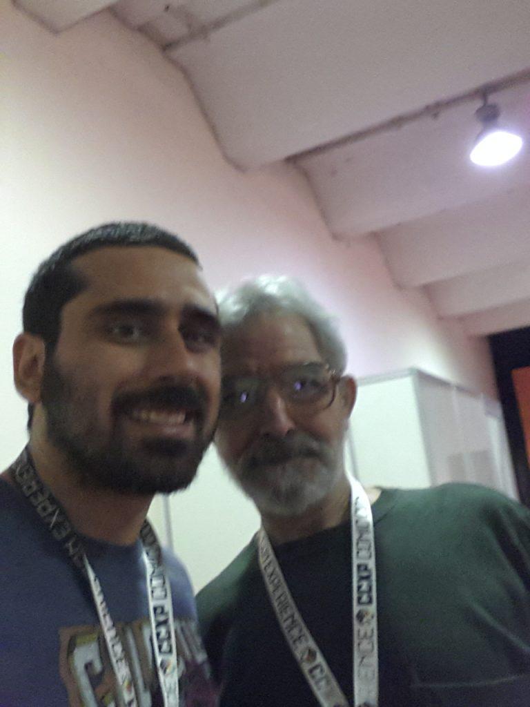 Jose Luiz Garcia-Lopez CCXP 2014