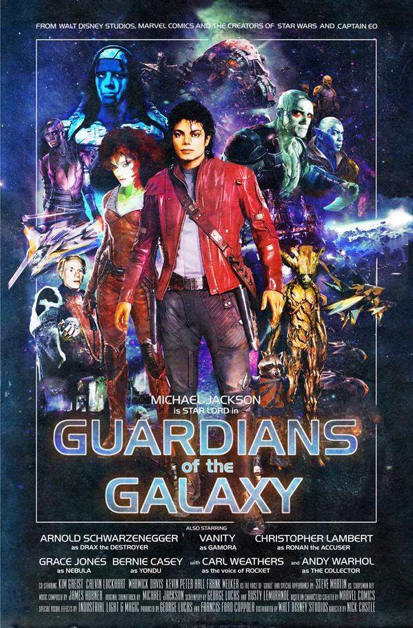 Guardiões Da Galáxia Fã Recria Pôster Com ícones Dos Anos 80