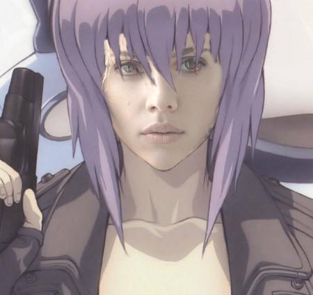 Scarlett Johansson estrelará a adaptação de Ghost in the Shell
