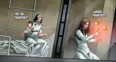 "HQ de prelúdio de ""Vingadores 2″ conta a origem de Wanda e Pietro Maximoff"