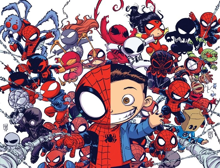 HQ do Dia | Homem-Aranha: Spider-Verse - A Saga completa The Bag Man Movie Poster