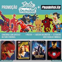 RESULTADO: Proibido Ler e Tudo é Incrível  levam o mundo dos Super-Heróis para sua casa