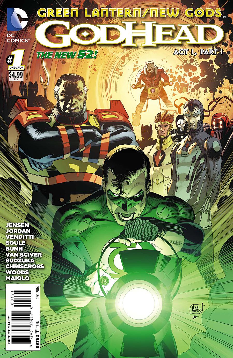 HQ do Dia | Lanterna Verde/Novos Deuses - Godhead - A saga completa