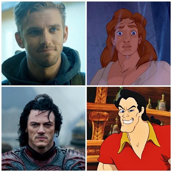 """A Bela e a Fera   Conheça os atores que viverão """"Gaston"""" e """"Fera"""" no filme"""