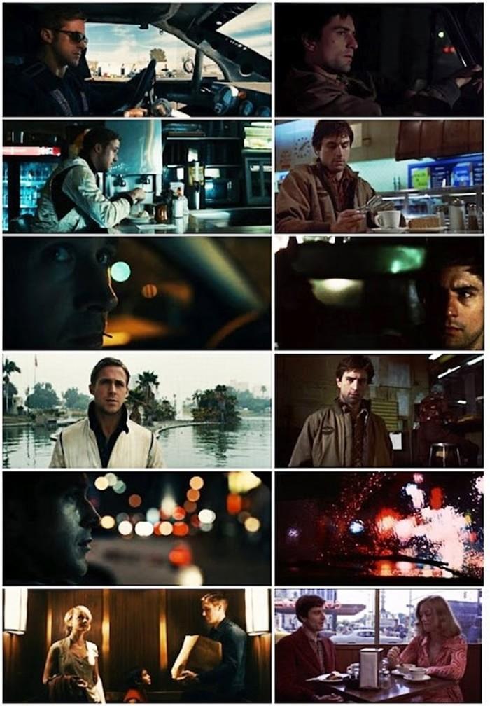 Paralelos Visuais   Taxi Driver (1976) e Drive (2011)