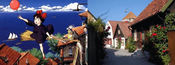 Estúdio Ghibli | 9 lugares reais que inspiraram os cenários dos filmes.