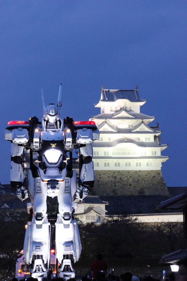 Patlabor | Robôs em tamanho real promovem a segurança no trânsito