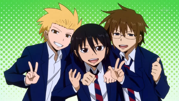 Resenha - Danshi Koukousei no Nichijou | O dia a dia cômico de garotos do colegial