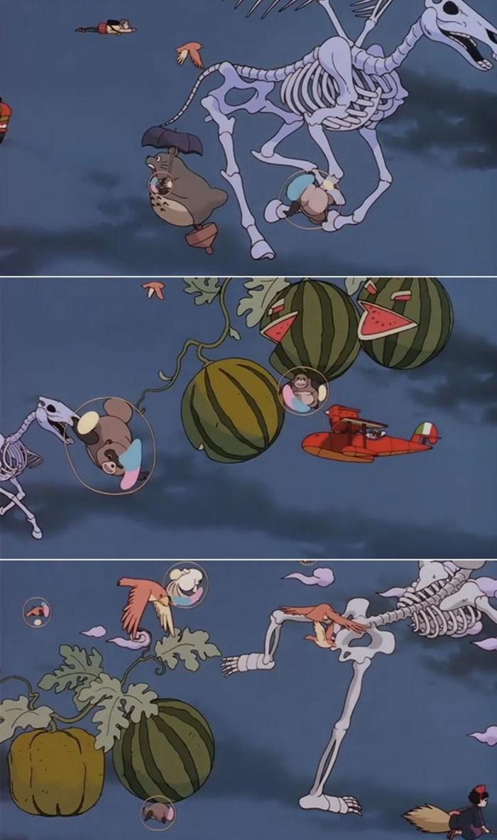 Studio Ghibli   Vídeo compila vários easter eggs dos filmes do estúdio!