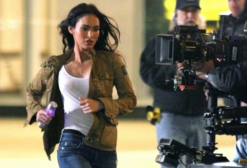 As Tartarugas Ninja 2 |Fotos de Megan Fox como April O'neil no set