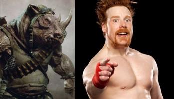 Tartarugas Ninja 2 | Sheamus será Rocksteady