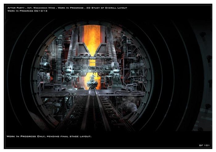 Os Vingadores: Era de Ultron | Incríveis artes conceituais de Wakanda que foram cortadas do filme