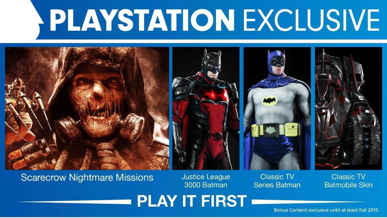 Batman: Arkham Knight | Trailer de conteúdo exclusivo do jogo para PS4 liberado