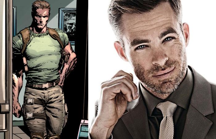 Chris Pine estaria em negociações para ser Steve Trevor em Mulher-Maravilha!