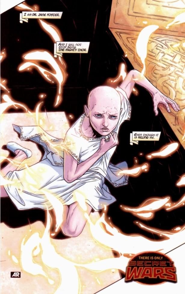 THOR | Finalmente é revelada a identidade da Deusa do Trovão!