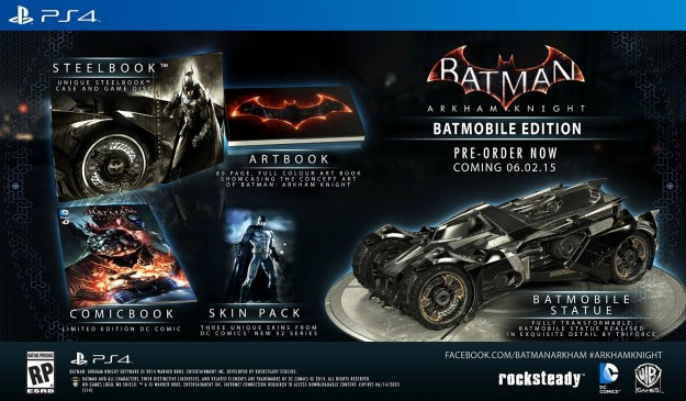 Batman: Arkham Knight | Batmobile Edition é cancelado