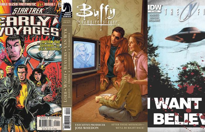 Das telinhas para as páginas dos quadrinhos