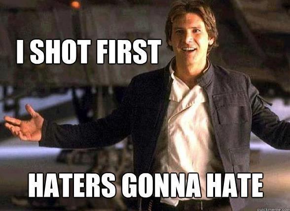 Mistério resolvido: Han Solo atirou primeiro, e aqui está a prova: