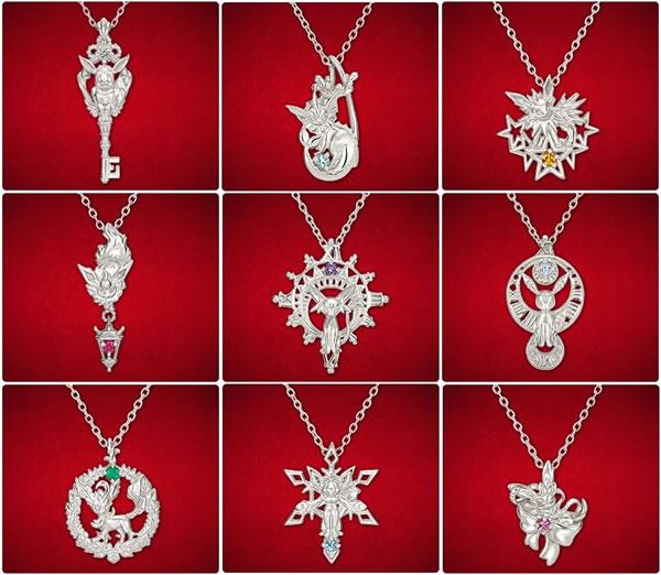 Pokémon | Evoluções do Eevee viram colares de prata e ouro