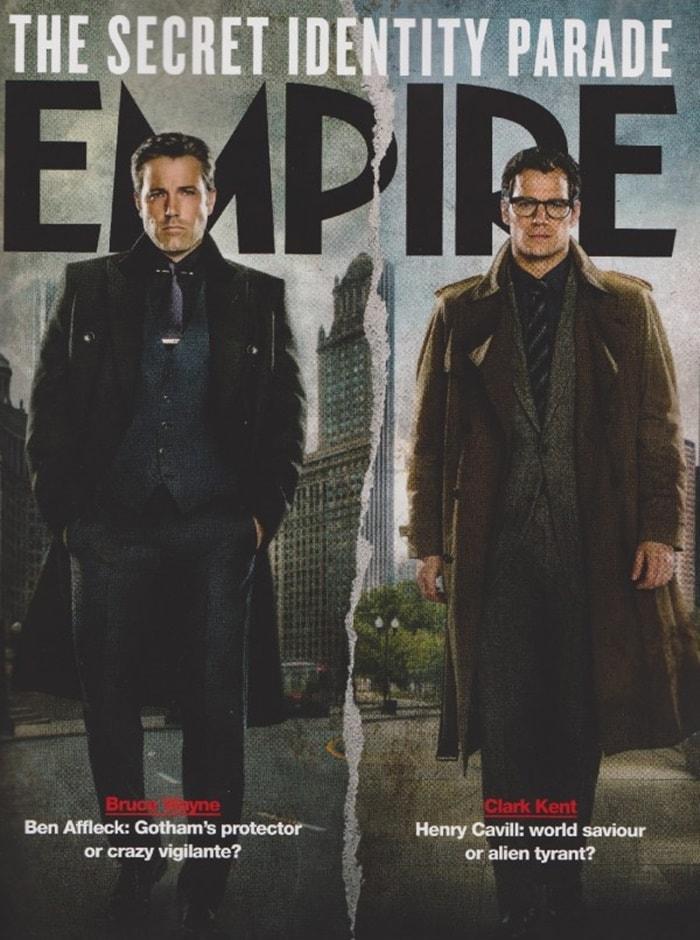 Bruce Wayne (Ben Affleck) e Superman (Henry Cavill)