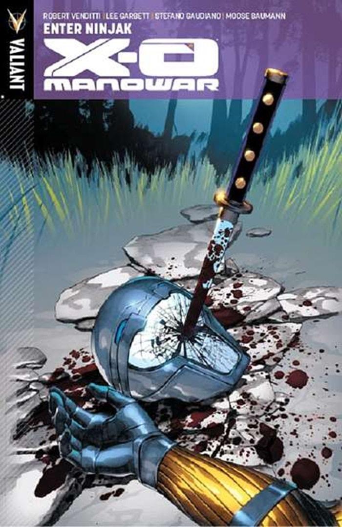 HQ do Dia  X-O Manowar Vol. 2 Entra em cena Ninjak