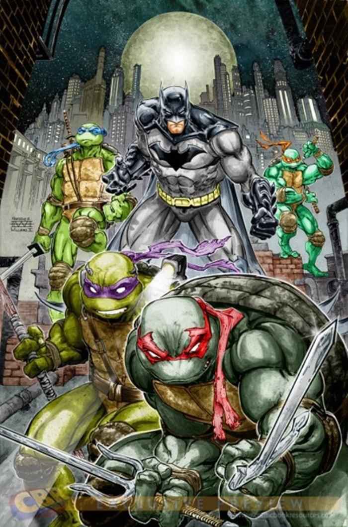 SDCC2015 - DC Comics | HQ com Batman e Tartarugas Ninja juntos é anunciada