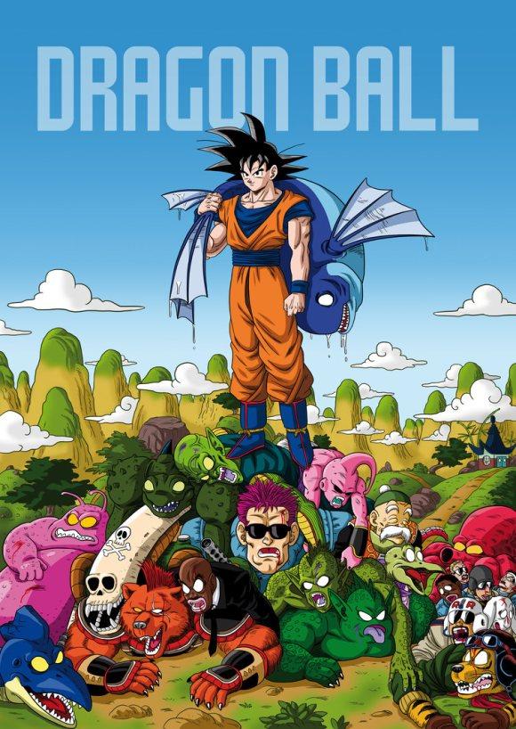Dragon Ball   Fanart cataloga quantos personagens cada guerreiro Z já matou