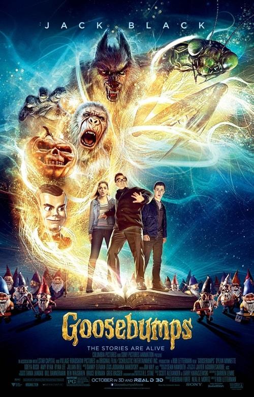 Goosebumps | Primeiro trailer do filme é incrível