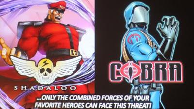 SDCC2015 | Capcom anuncia HQ G.I. Joe vs Street Fighter