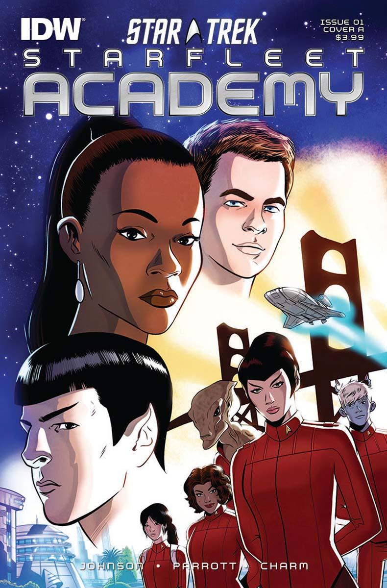 SDCC2015 - Star Trek | IDW irá publicar prequel na nova série de quadrinhos New Star Trek: Starfleet Academy