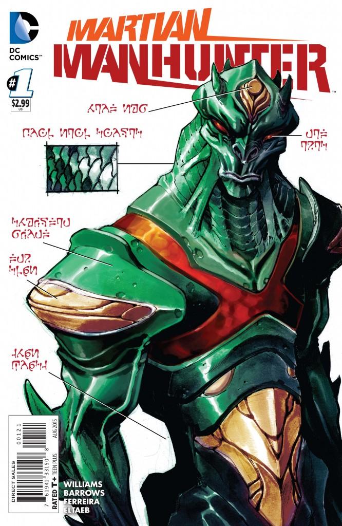 HQ do Dia | Martian Manhunter #1