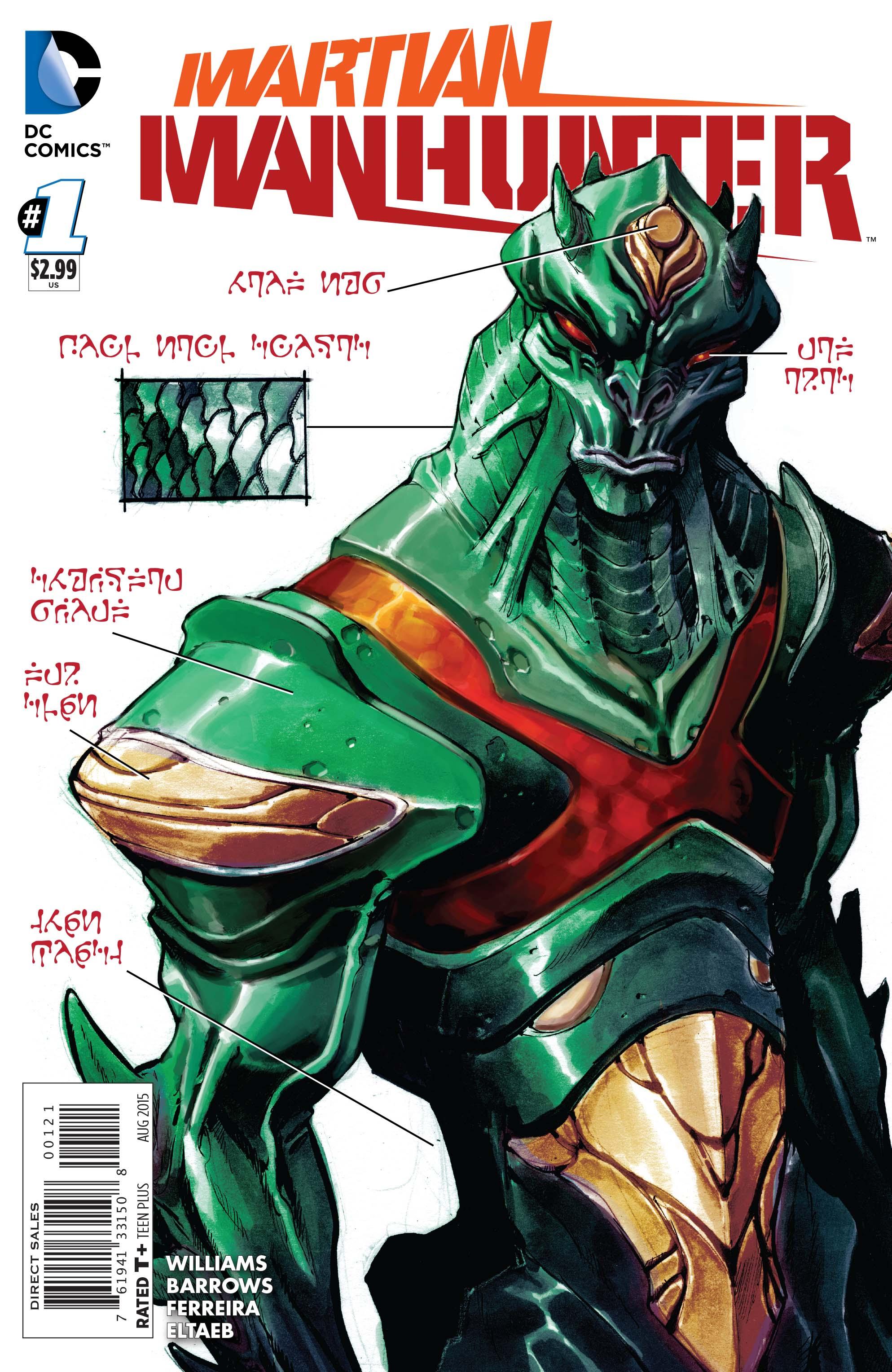 Hq Do Dia Martian Manhunter 1