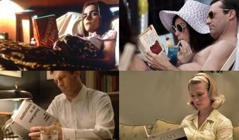 Lista especial: Os livros na série Mad Men