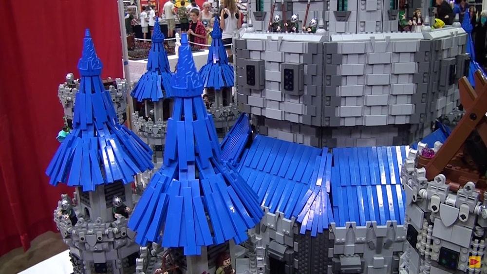 The Legend Of Zelda  Confira o castelo em LEGO gigante!-min