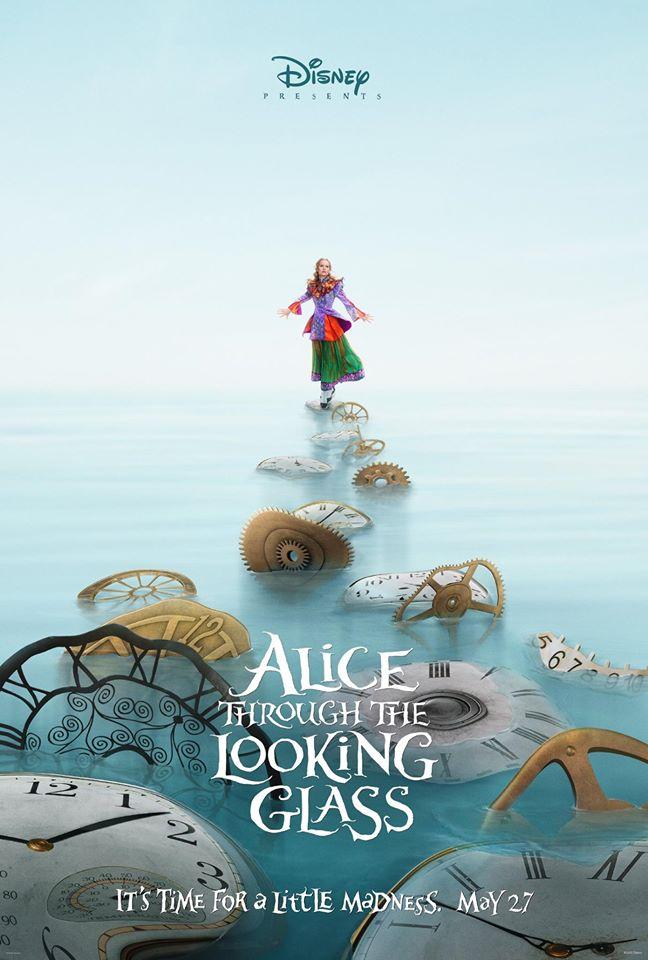 Alice Através do Espelho   Confira os primeiros pôsters oficiais do filme