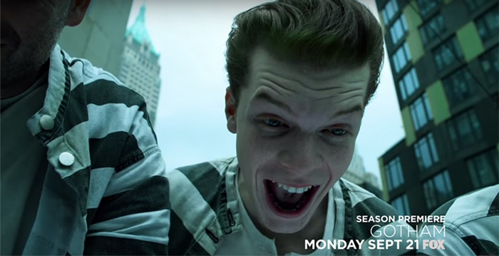 Gotham | O Coringa é destaque em nova promo da série