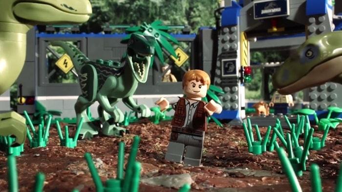 Jurassic World   Filme ganhou paródia em versão LEGO