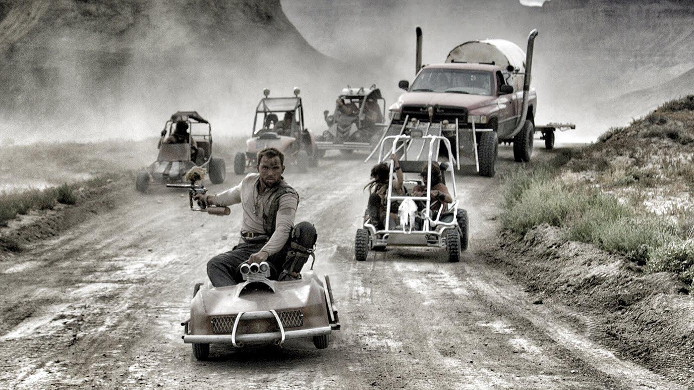 TESTEMUNHE! - Para promo do jogo, Youtuber recria cena épica de Mad Max usando karts e armas de paintball