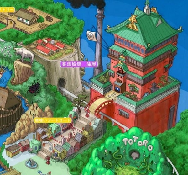 Conheça o projeto para um parque temático inspirado em Hayao Miyazaki