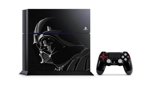 Sony anuncia versão de PS4 inspirada em Darth Vader